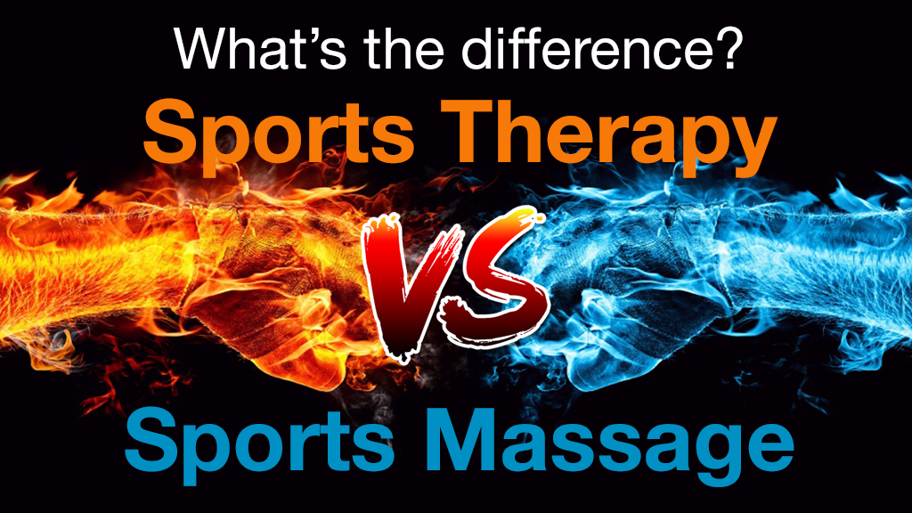 Sports Therapy -VS- Sports Massage