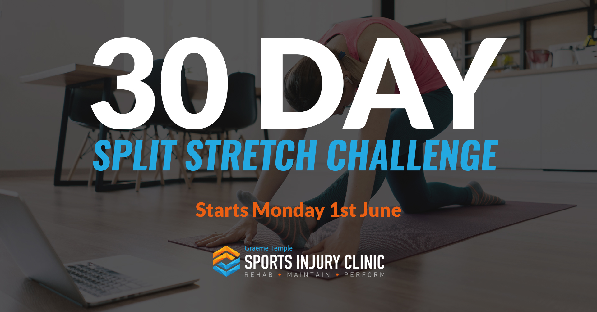 30 Day Splits Stretch Challenge