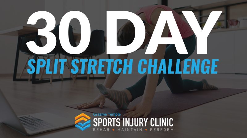 30 Day Split Stretch Challenge